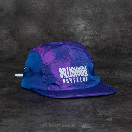 cb1893da75c Billionaire Boys Club Reflective Logo 5 Panel Cap Purple