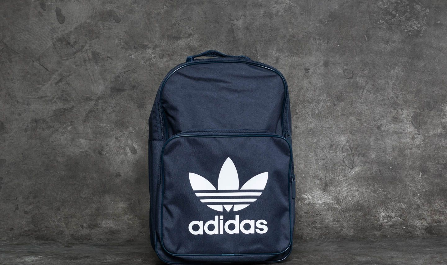 adidas Classic Trefoil Backpack Collegiate Navy  64e07435f66b0