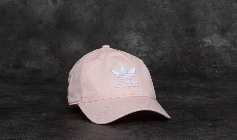 e9b30dfbfcd adidas Trefoil Cap Blush Pink  White
