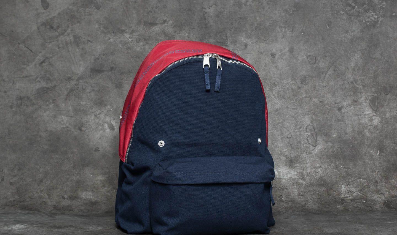 EASTPAK x Raf Simons Padded Pak R Backpack Navy Canvas ...