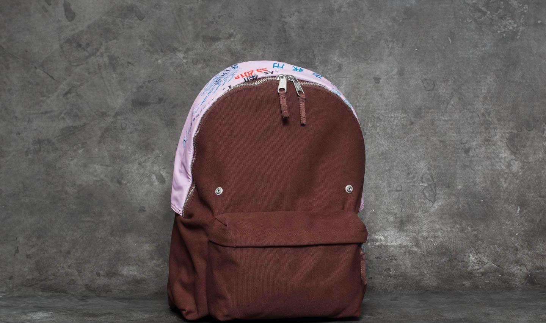 EASTPAK x Raf Simons Padded Pak'R Backpack Brown Canvas