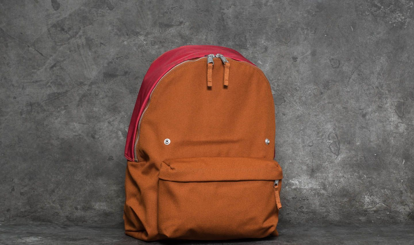 EASTPAK x Raf Simons Padded Pak'R Backpack Rust Canvas