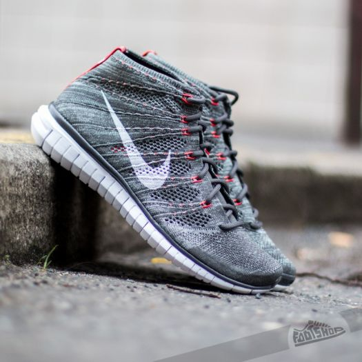 reputable site 2b67a 32788 Nike Free Flyknit Chukka Midnight Fg/White   Footshop