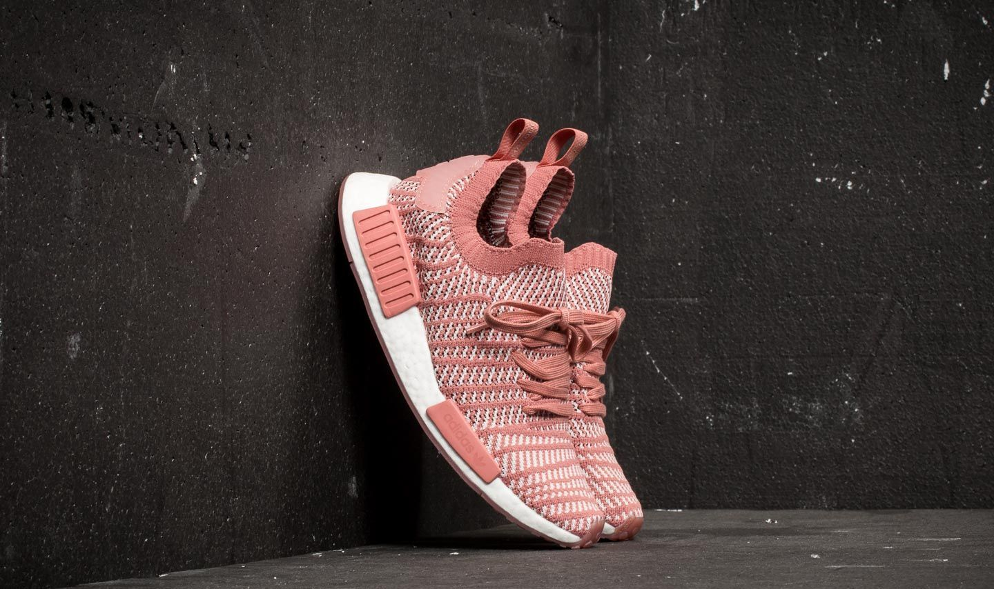 separation shoes 57db4 173e3 adidas NMD R1 STLT Primeknit W. Ash Pink  Orchid Tint  ...