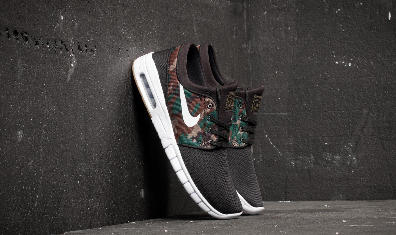 Nike Stefan Janoski Max Black  White-Medium Olive  523f733a55