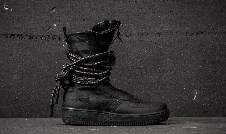 shoes Nike SF Air Force 1 Hi Black