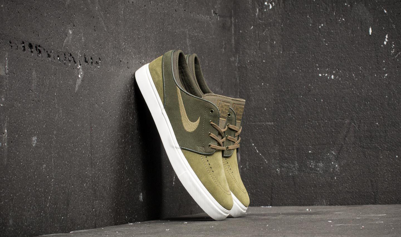 promo code c0673 09816 Nike Zoom Stefan Janoski. Sequoia  Medium Olive