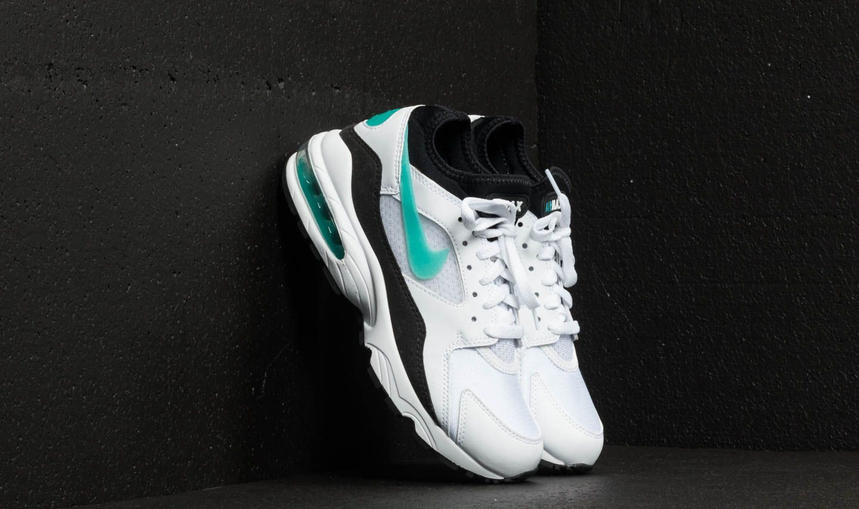 Nike Wmns Air Max 93 White  Sport Turq-Black  455af8199