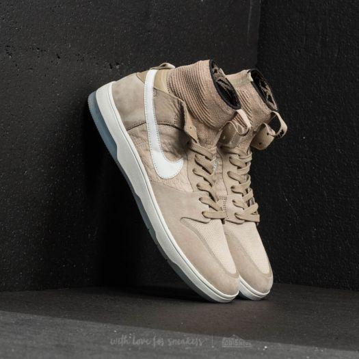 uk availability 0171c 2da1f Nike SB Zoom Dunk High Elite Khaki/ Light Bone/ Black ...