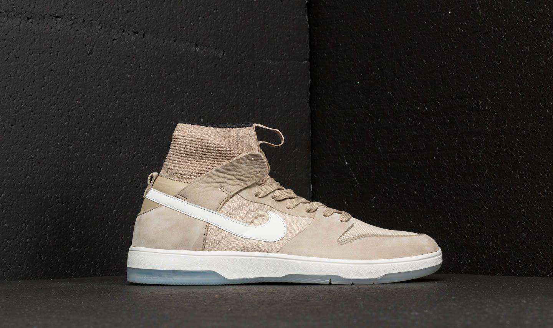 best website a573b 2b73a Nike SB Zoom Dunk High Elite Khaki/ Light Bone/ Black | Footshop