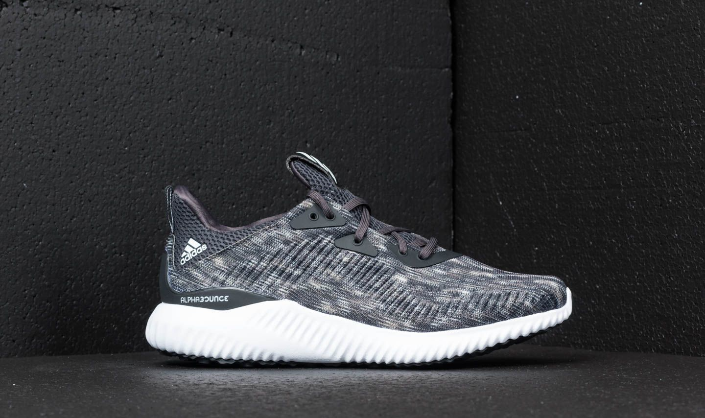 reputable site 5a941 eb500 adidas Alphabounce Space Dye Grey Core Black Ftw White Carbon at a great