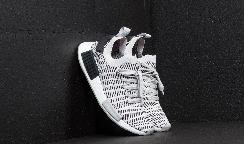 adidas NMD R1 STLT Primeknit Grey Two  Grey One  Core Black ... 0cec8131f