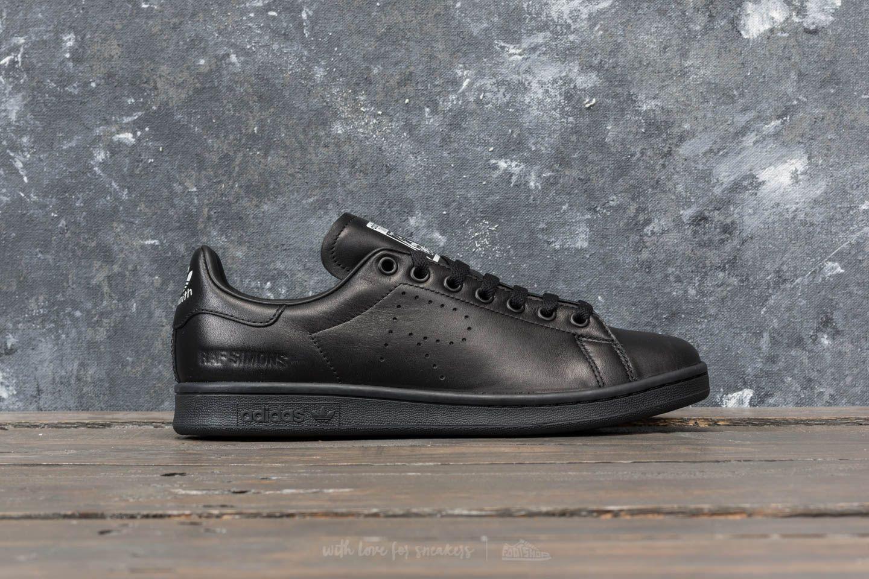 official photos 130e5 1dc10 adidas x Raf Simons Stan Smith Core Black/ Core Black | Footshop