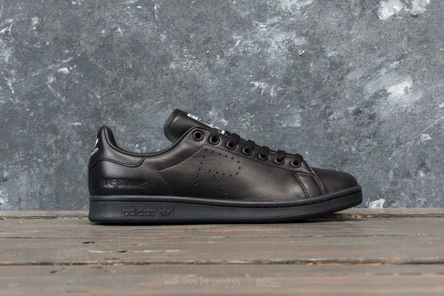 51f0508b68db adidas x Raf Simons Stan Smith Core Black  Core Black at a great price 117
