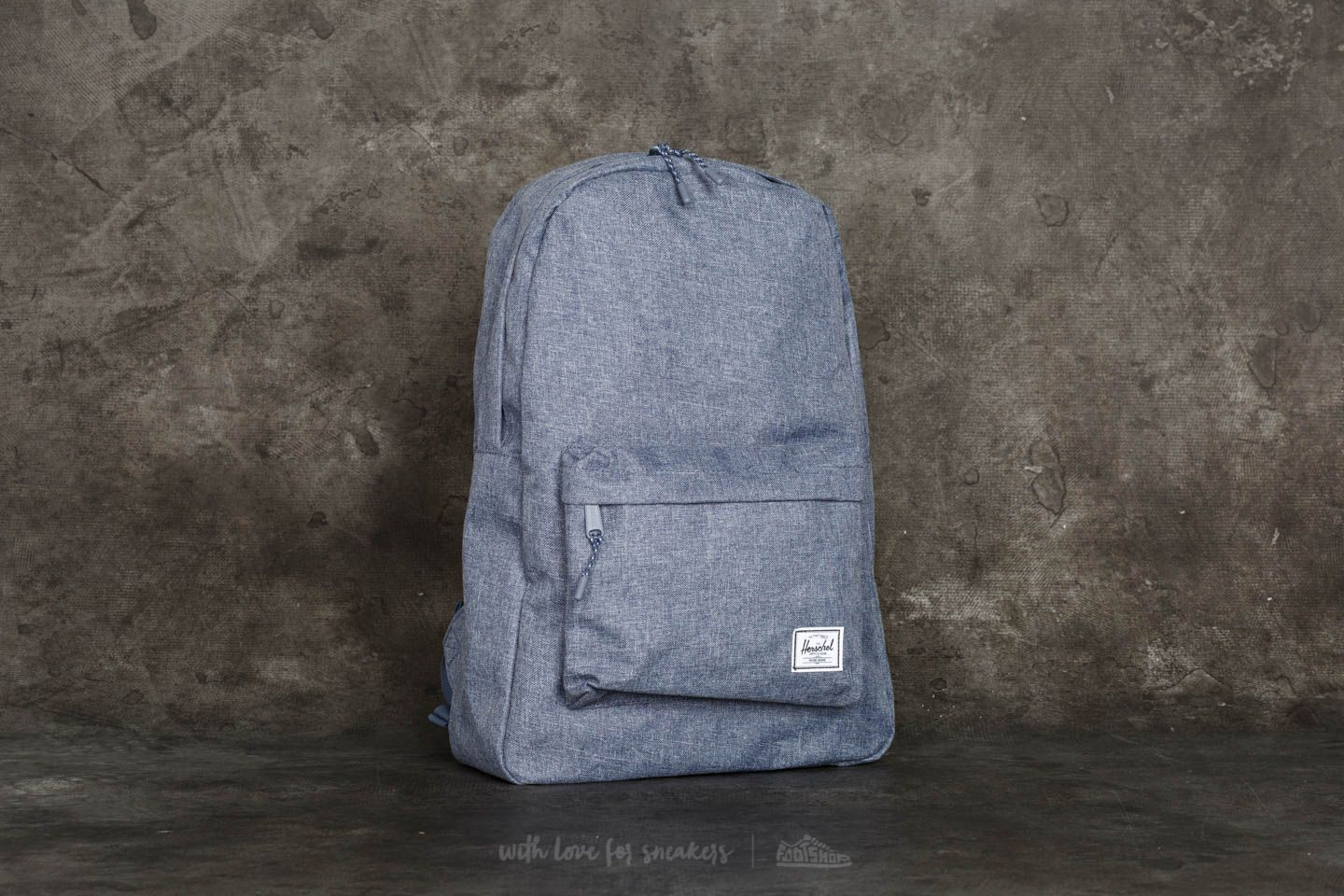 578a639f40f Herschel Supply Co. Classic Backpack Dark Chambray Crosshatch ...