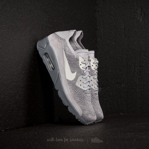preview of cheap price best loved Nike Air Max 90 Ultra 2.0 Flyknit Atmosphere Grey/ Light Bone ...