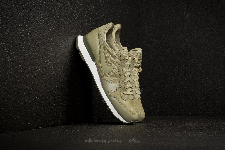 Nike Wmns Internationalist Premium Neutral Olive/ Neutral Olive | Footshop
