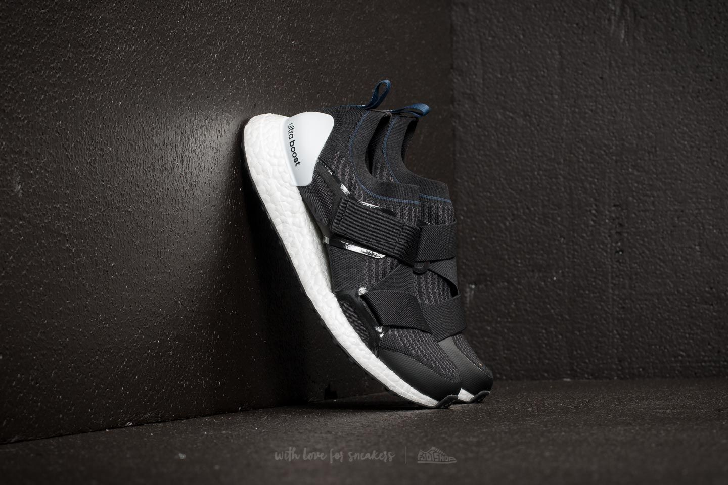 2f52bc8d890e0 adidas x Stella McCartney Ultraboost X. Core Black  Night Grey  Collegiate  Navy