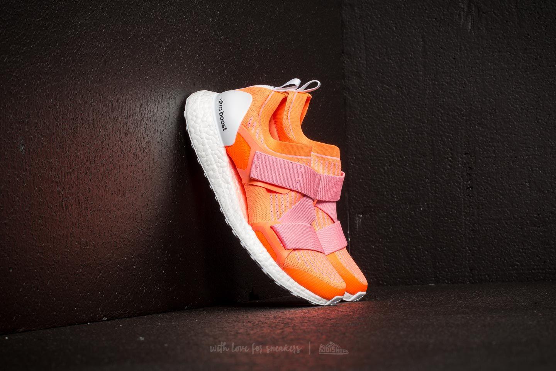 3b869797c adidas x Stella McCartney Ultraboost X Glow Orange  Hyper Pop ...