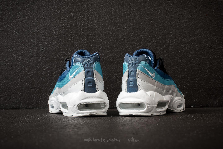 "Nike Air Max 95 Essential ""Reverse Stash"" Pure Platinum Black Navy | Footshop"