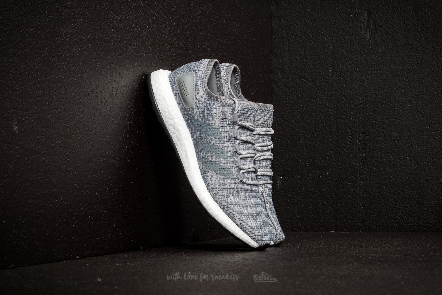 more photos ea4f0 bf1b0 adidas Pureboost. Grey Three Grey Two ...