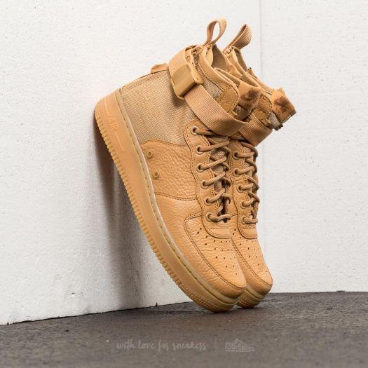 Nike W SF Air Force 1 Mid Elemental Gold Elemental Gold   Footshop