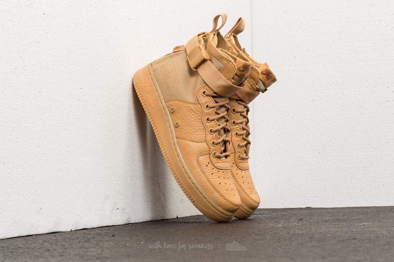 Nike W SF Air Force 1 Mid Elemental Gold/ Elemental Gold