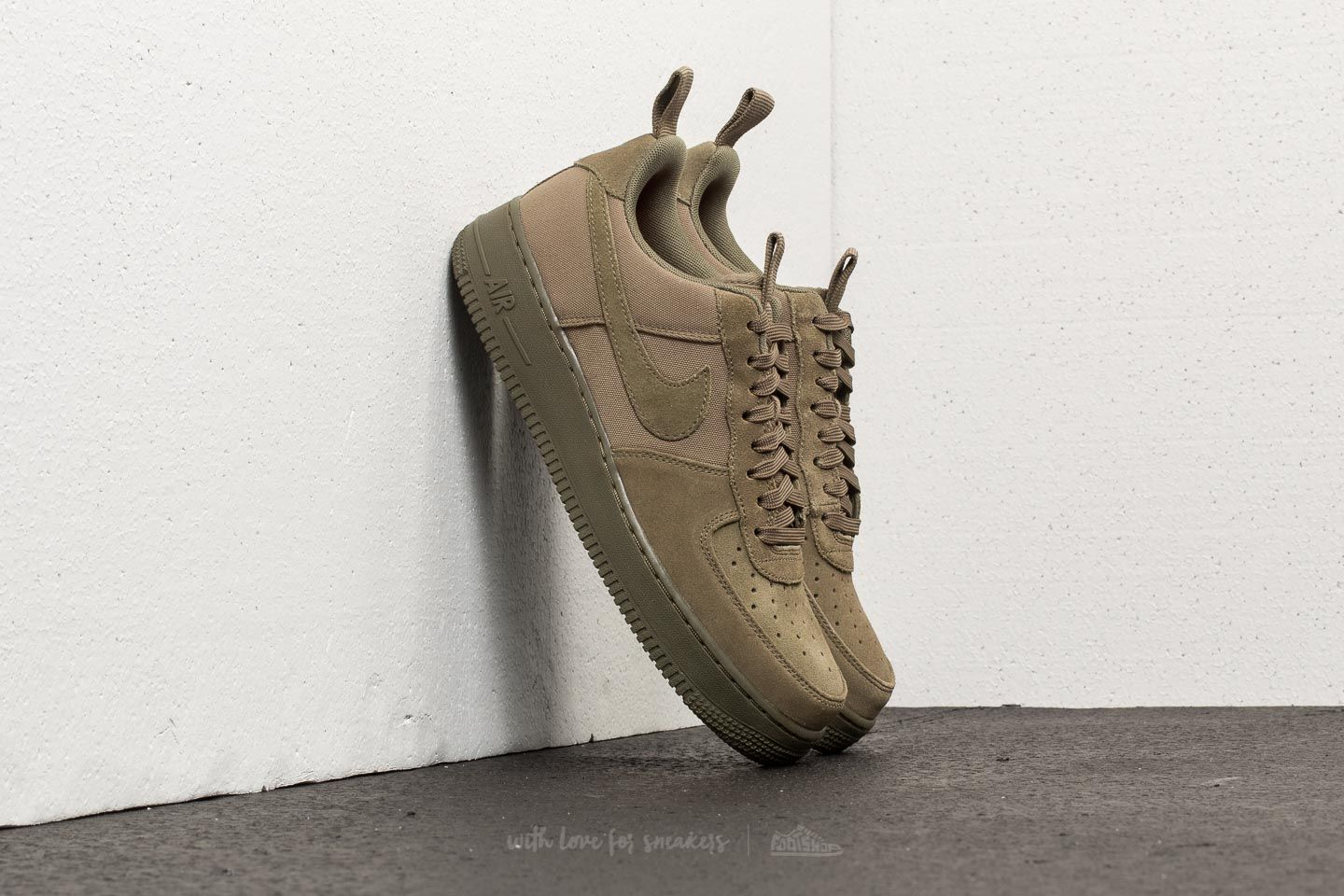 new product 99509 64421 Nike Air Force 1 ´07 Canvas. Medium Olive  Medium Olive