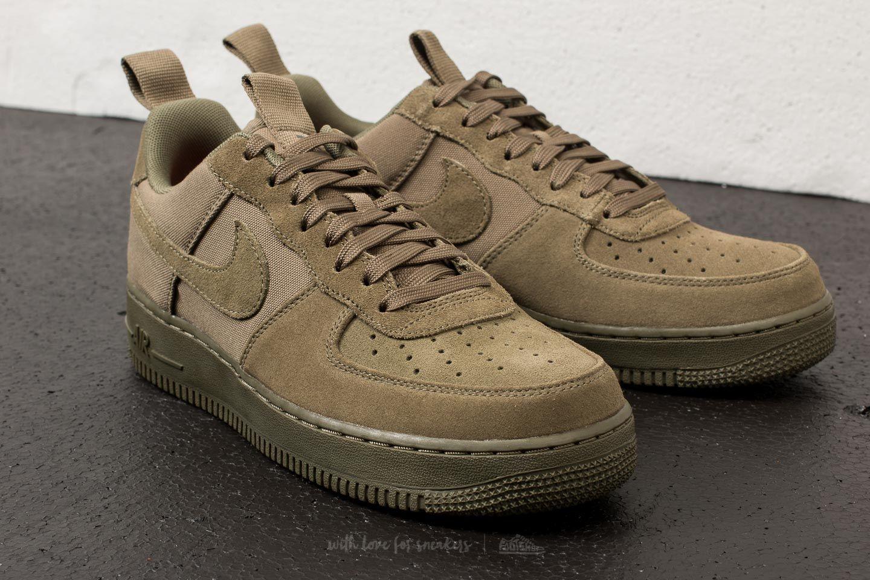 gato Supone ficción  Men's shoes Nike Air Force 1 ´07 Canvas Medium Olive/ Medium Olive    Footshop
