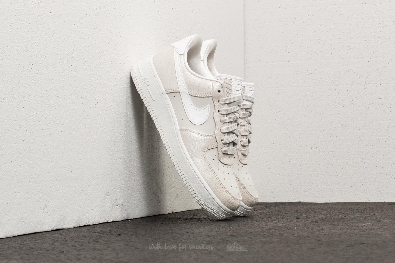 Nike Air Force 1 ´07 Premium WMNS Light Bone/ Metallic Summit White
