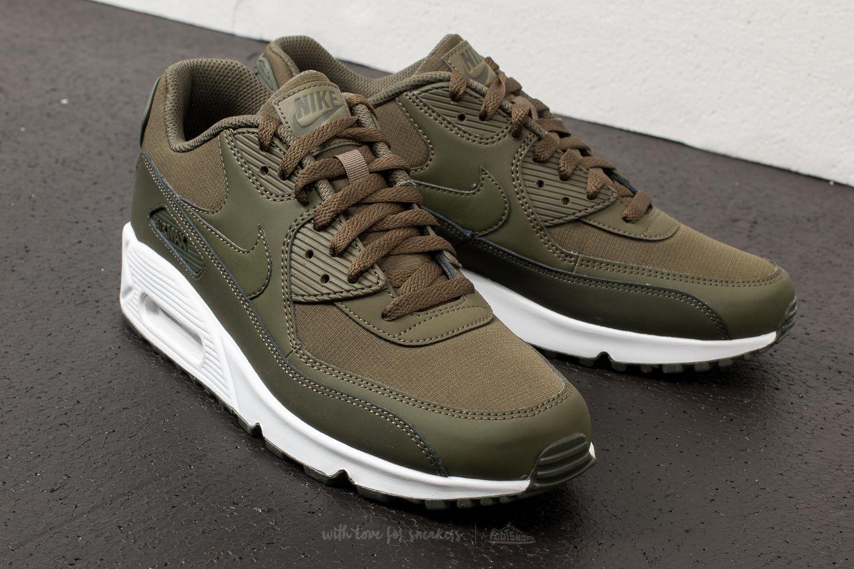 Air Max 90 Essential Shoes SequoiaCargo Khaki