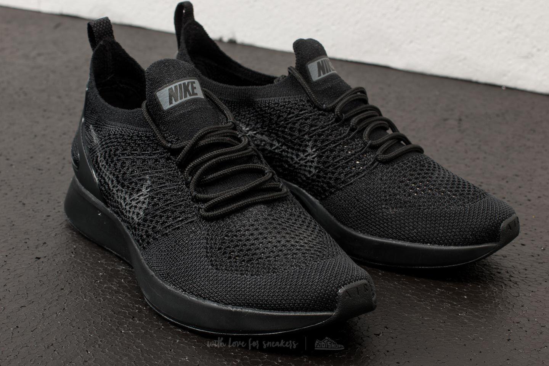 Nike W Air Zoom Mariah Flyknit Racer Black Dark Grey White | Footshop