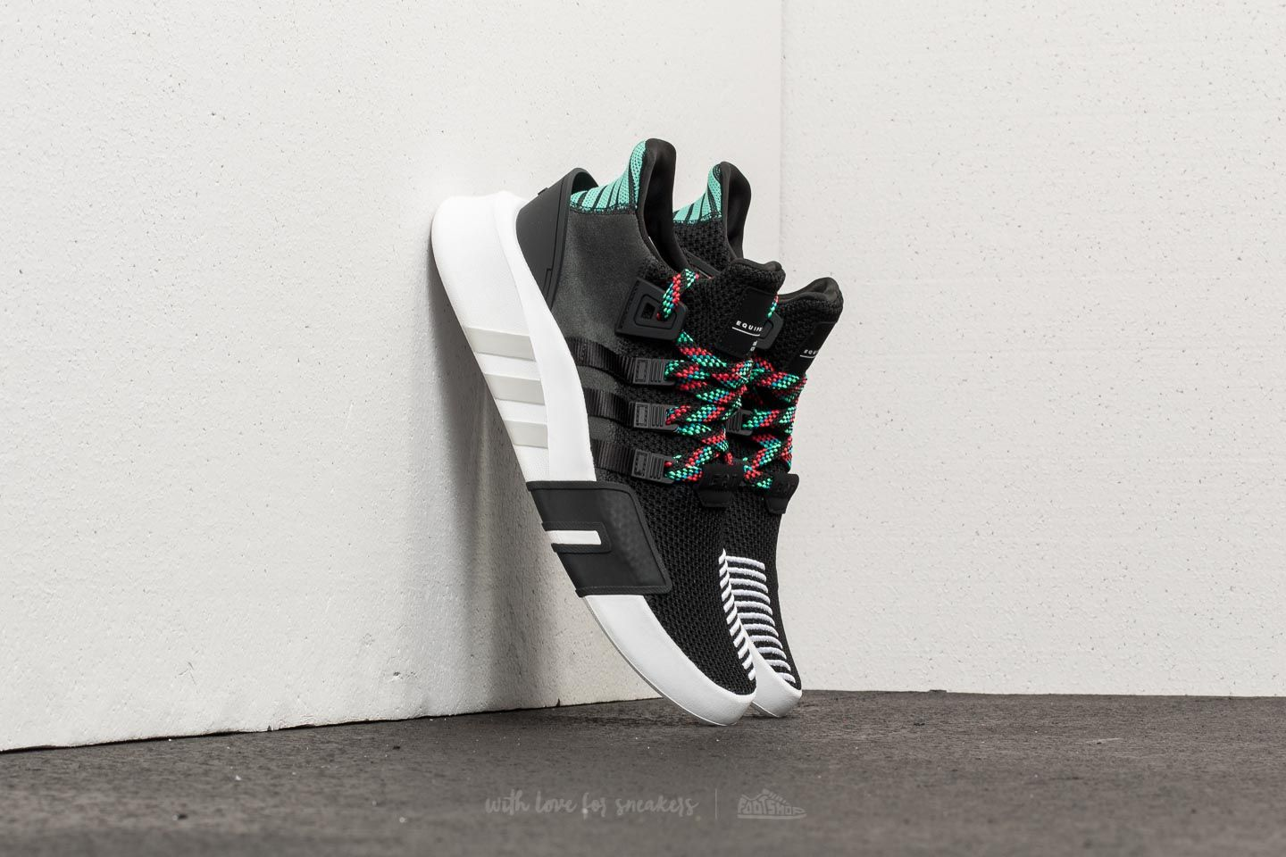 buy online ae9b3 fa787 adidas EQT Bask ADV Core Black Core Black Sub Green at a great price
