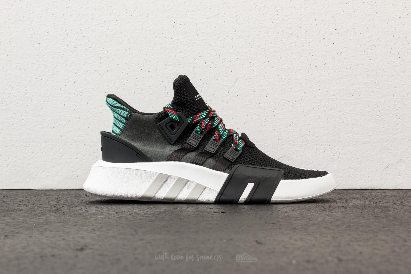 buy online 8e7a3 79b99 adidas EQT Bask ADV Core Black Core Black Sub Green at a great price