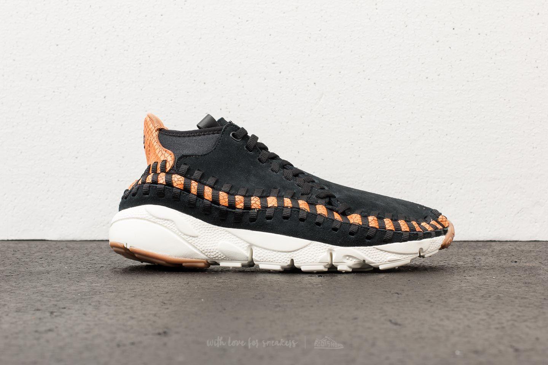 Nike Air Footscape Woven Chukka Premium Black  Black-Dark Russet-Sail at a 766cfee4e