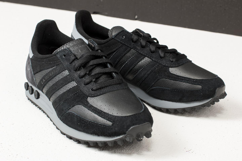 adidas LA Trainer Core Black Core Black Grey Five | Footshop