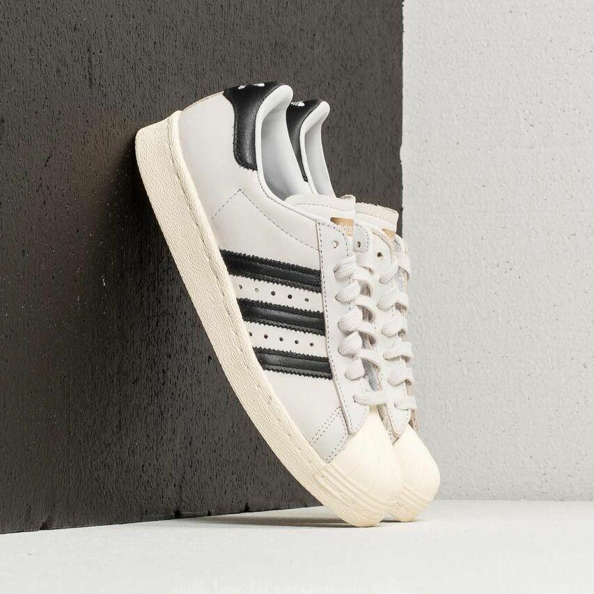 adidas Superstar 80s W Ftw White/ Core Black/ Cream White EUR 39 1/3