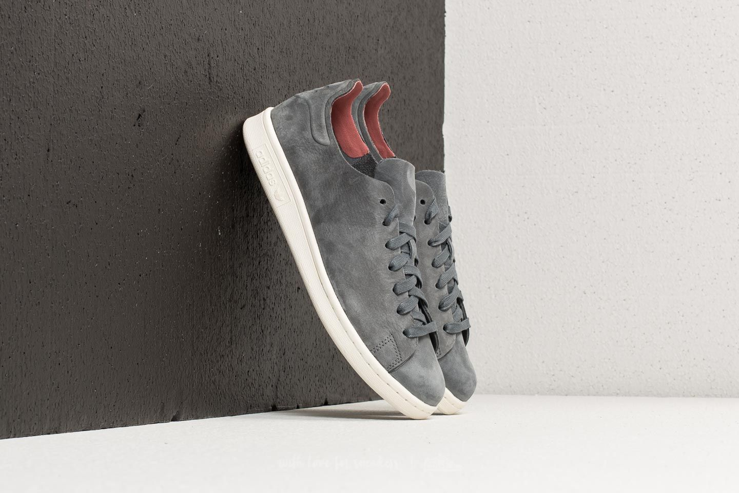 new style cfb37 fac0a adidas Stan Smith Nuud Grey Five  Grey Five  Aero Pink at a great price