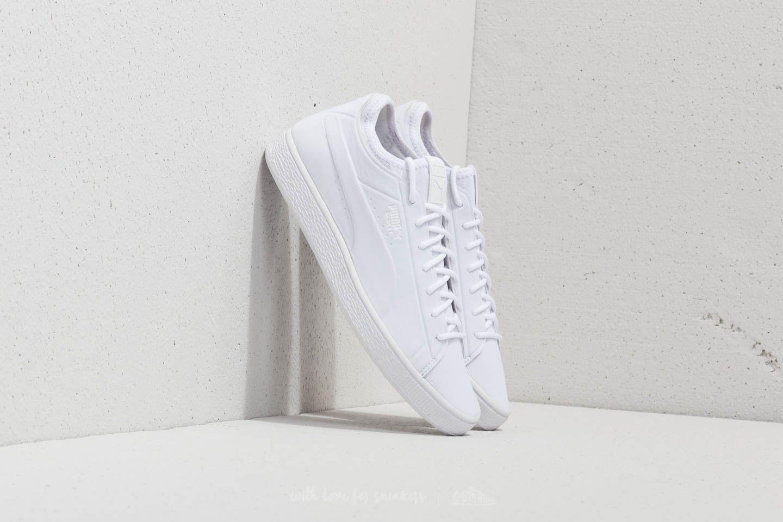 8669ebfec69 Puma Basket Classic Sock Low Puma White-Puma White-Puma White