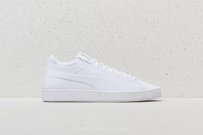 wholesale dealer 18c81 02df0 Puma Basket Classic Sock Low Puma White-Puma White-Puma ...