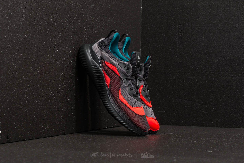 0b6846e62 adidas Alphabounce (kolor) Core Black  Grey Two  Hi-Res Red ...