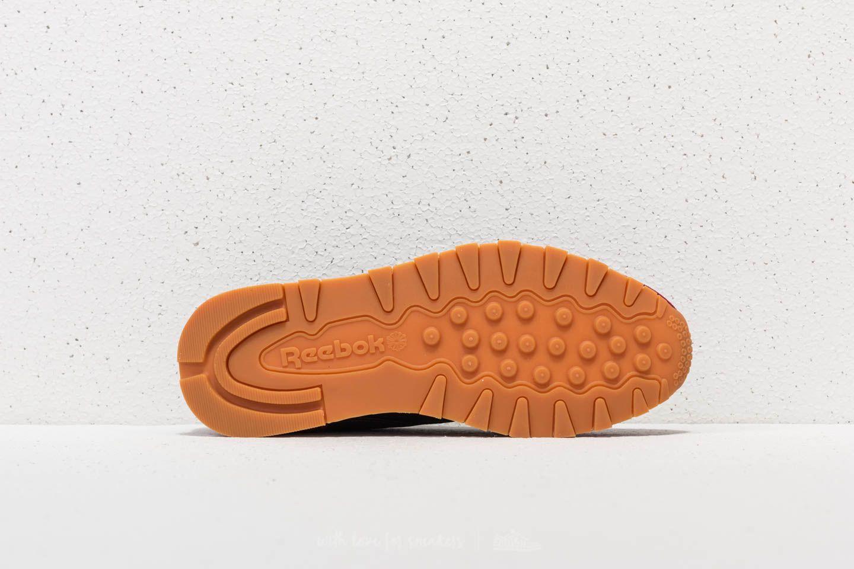 Reebok Classic Leather GI Coal/ Urban Maroon-White-Gum | Footshop