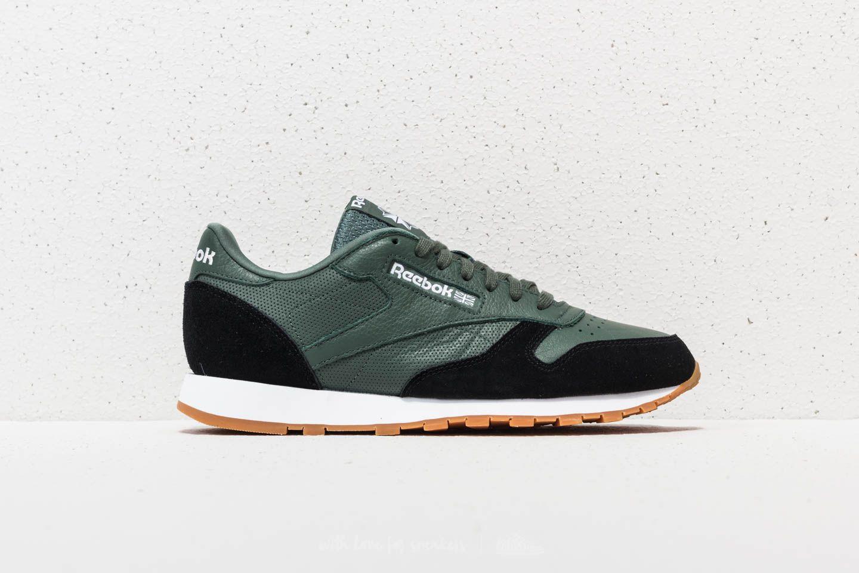 Reebok Classic Leather GI Chalk Green/ Black/ White-Gum | Footshop