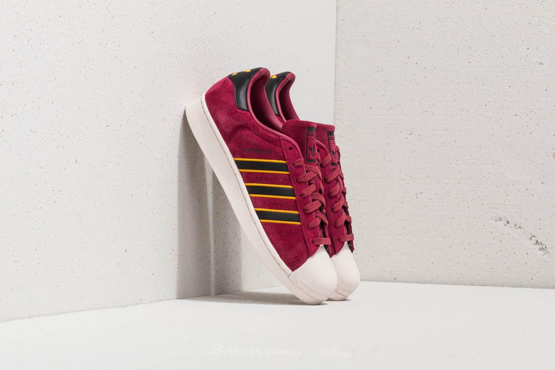 96c5439b5 adidas Superstar Red/ Core Black/ Yellow Adiprene | Footshop