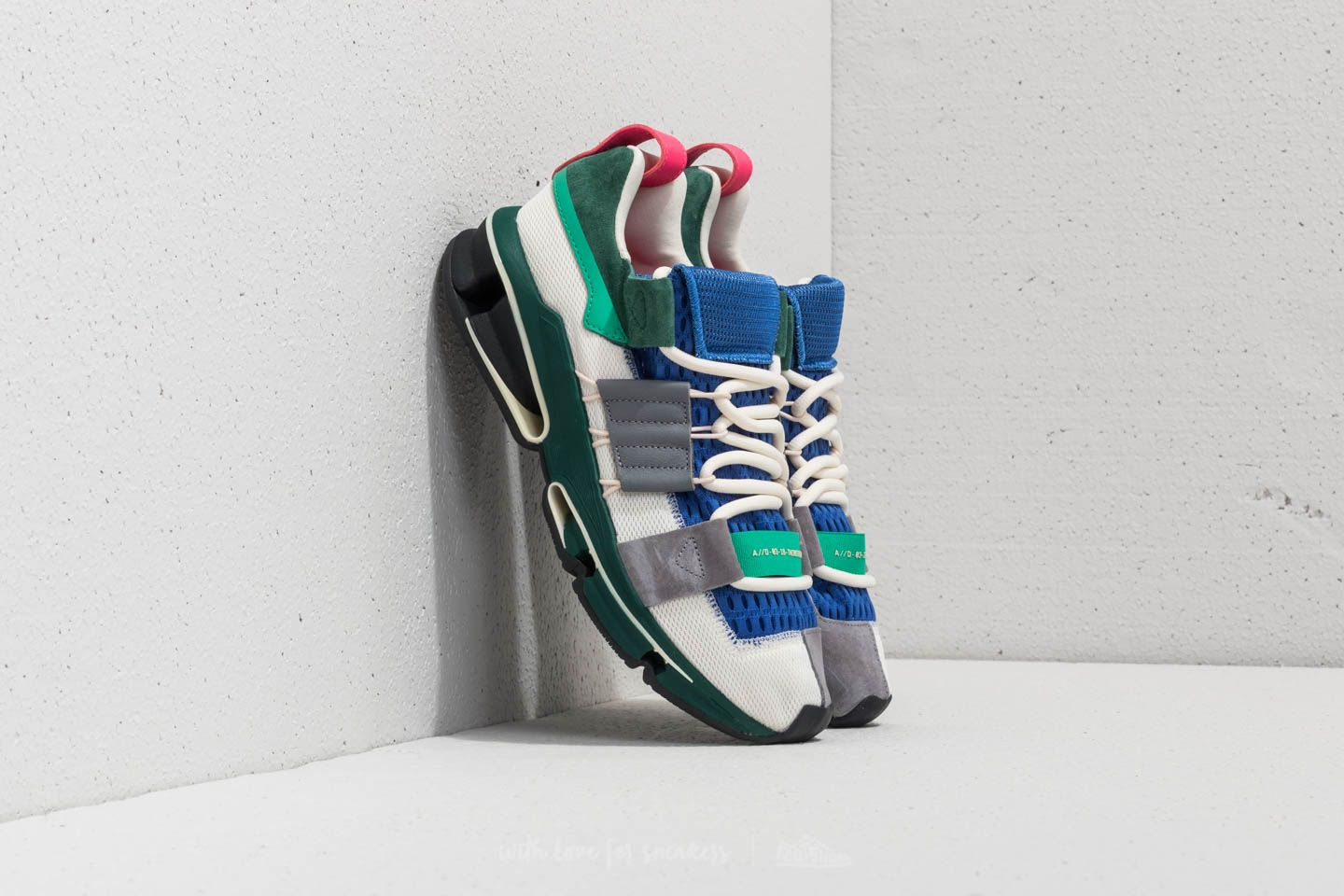 adidas Twinstrike ADV Off White Grey Three Collegiate Green | Footshop
