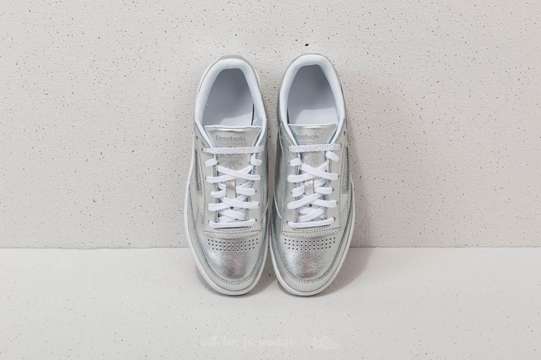 best website 9fd9e 92ba3 Reebok Club C 85 S Shine Silver/ White | Footshop