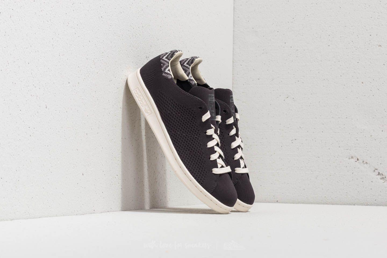 adidas Stan Smith Primeknit Carbon/ Carbon/ Chalk White