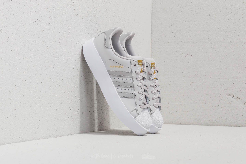 adidas Superstar Bold W Grey One Grey Two Ftw White | Footshop