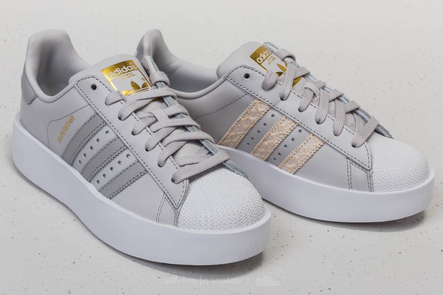 adidas Superstar Bold W Grey One/ Grey Two/