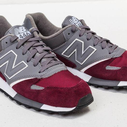 sacudir Confiar Faceta  Men's shoes New Balance 446 Grey/ Burgundy